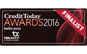 Credit Today Awards 2016 Finalist